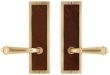 Rocky Mountain Hardware<br />E115/E115 - 3&quot; X 10&quot; DESIGNER ESCUTCHEONS - FULL DUMMY