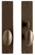 Rocky Mountain Hardware<br />E206/E207 - 2.25&quot; X 10&quot; METRO ESCUTCHEON - PATIO
