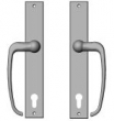 Rocky Mountain Hardware<br />E248/E248 - 1 3/4&quot; x 11&quot; Profile Cylinder Metro Sliding Door Trim - Entry