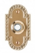 Rocky Mountain Hardware<br />E30603 - Corbel Arched Doorbell Button