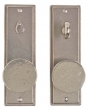 Rocky Mountain Hardware<br />E307/E306 - 2.5&quot; x 8&quot; Stepped Set - Privacy Mortise Bolt