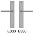 Rocky Mountain Hardware<br />E330/E330 - 1 3/4&quot; x 11&quot; stepped Escutcheon American Cylinder Full Dummy
