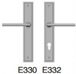 Rocky Mountain Hardware<br />E330/E332 -  1 3/4&quot; x 11&quot; stepped Escutcheon Profile Cylinder Patio Trim