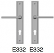 Rocky Mountain Hardware<br />E332 E332  - Entry Trim 1 3/4 x 11 Stepped Escutcheon