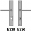 Rocky Mountain Hardware<br />E338 E336  - 1 3 4 x 11 stepped Escutcheon American Cylinder Entry Trim