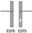 Rocky Mountain Hardware<br />E376 E375 - 1 3/8&quot; x 11&quot; stepped Escutcheon Profile cylinder