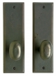 Rocky Mountain Hardware<br />E404/E404 - 3&quot; X 10&quot; RECTANGULAR ESCUTCHEONS - FULL DUMMY