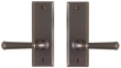 Rocky Mountain Hardware<br />E405/E405 - 2&quot; x 6&quot; Rectangular Passage Mortise Lock