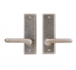 Rocky Mountain Hardware<br />E410/E410 - 2.5&quot; X 8&quot; RECTANGULAR ESCUTCHEONS - FULL DUMMY
