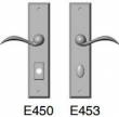 Rocky Mountain Hardware<br />E450/E453 - 2 1/2&quot; x 11&quot; rectangular Escutcheon american cylinder