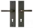 Rocky Mountain Hardware<br />E457/E457 - 2 1/2&quot; x 11&quot; Profile Cylinder Rectangular Multi-Point Set - Entry