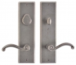 Rocky Mountain Hardware<br />E475/E463 - 3.5&quot; X 13&quot; RECTANGULAR ESCUTCHEON - ENTRY - 5.5&quot; C-C