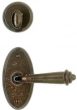 Rocky Mountain Hardware<br />E501/E501/IP417 - 2 5/8&quot; X 5 1/4&quot; OVAL ESCUTCHEON - PATIO