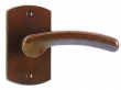 Rocky Mountain Hardware<br />E504/E504 - 2.5&quot; x 4.5&quot; CURVED ESCUTCHEON