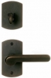 Rocky Mountain Hardware<br />E504/E504/IP512 - 2.5&quot; X 4.5&quot; CURVED ESCUTCHEON - PATIO
