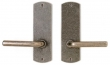 Rocky Mountain Hardware<br />E508/E508 - 2.5&quot; X 8&quot; CURVED ESCUTCHEONS - FULL DUMMY
