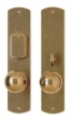 Rocky Mountain Hardware<br />E511/E513 - 2 1/2&quot; X 11&quot; CURVED ESCUTCHEONS - ENTRY