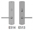 Rocky Mountain Hardware<br />E514/E513 - 2.5&quot; x 11&quot; CURVED ESCUTCHEON - PRIVACY MORTISE BOLT