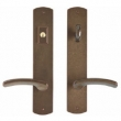 Rocky Mountain Hardware<br />E555/E554 Entry - Endura Trilennium Curved Multipoint Entry Lever Set