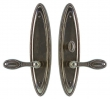 Rocky Mountain Hardware<br />E584/E582 - 3&quot; X 12.5&quot; MADDOX ESCUTCHEON - PATIO