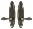 Rocky Mountain Hardware<br />E584/E584 - 3&quot; X 12.5&quot; MADDOX ESCUTCHEONS - FULL DUMMY