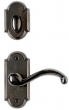 Rocky Mountain Hardware<br />E701/E701/DB508 - 2.5&quot; X 5.5&quot; ARCHED ESCUTCHEONS - ENTRY