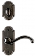 Rocky Mountain Hardware<br />E701/E701/IP716 - 2.5&quot; X 5.5&quot; ARCHED ESCUTCHEON - PATIO