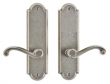 Rocky Mountain Hardware<br />E702/E702 - 2.5&quot; X 9&quot; ARCHED ESCUTCHEONS - FULL DUMMY