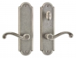 Rocky Mountain Hardware<br />E702/E723 - 2.5&quot; X 9&quot; ARCHED ESCUTCHEON - PATIO