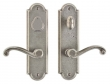 Rocky Mountain Hardware<br />E726/E723 - 2 1/2&quot; X 9&quot; ARCHED ESCUTCHEONS - ENTRY