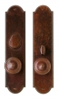 Rocky Mountain Hardware<br />E729/E728 - 3&quot; X 13&quot; ARCHED ESCUTCHEONS - ENTRY