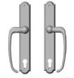Rocky Mountain Hardware<br />E740/E740 - 1 3/4&quot; x 11&quot; Profile Cylinder Arched Sliding Door Trim - Entry