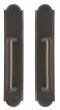 Rocky Mountain Hardware<br />E790/E790 - 2 1/2&quot; x 13&quot; Arched Sliding Door Trim - Full Dummy