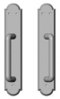 Rocky Mountain Hardware<br />E793/E793 - 2 1/2&quot; x 13&quot; Arched Sliding Door Trim - Full Dummy