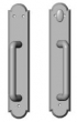 Rocky Mountain Hardware<br />E793/E794 - 2 1/2&quot; x 13&quot; Arched Sliding Door Trim - Patio