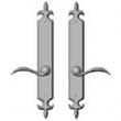 Rocky Mountain Hardware<br />E817/E817 - 2&quot; x 15&quot; AMERICAN CYLINDER FLEUR DE LIS MULTI-POINT SET - FULL DUMMY