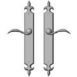 Rocky Mountain Hardware<br />E824/E824 - 2&quot; x 15&quot; AMERICAN CYLINDER FLEUR DE LIS MULTI-POINT SET - FULL DUMMY