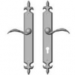 Rocky Mountain Hardware<br />E824/E825 - 2&quot; x 15&quot; PROFILE CYLINDER FLEUR DE LIS MULTI-POINT SET - PATIO