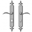 Rocky Mountain Hardware<br />E826/ E827 - 2&quot; x 15&quot; AMERICAN CYLINDER FLUER DE LIS MULTI-POINT SET - ENTRY