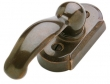 Rocky Mountain Hardware<br />EW705 - ROCKY MOUNTAIN ARCHED WINDOW ESCUTCHEON - 1.5&quot; x 3&quot;
