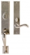 Rocky Mountain Hardware<br />G542/E437 - 3.5&quot; X 19 5/8&quot; EXTERIOR WITH 2.5&quot; X 13&quot; INTERIOR RECTANGULAR ESCUTCHEONS - ENTRY MORTISE LOCK