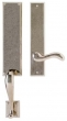 Rocky Mountain Hardware<br />G546/E436 - 3.5&quot; X 19 5/8&quot; EXTERIOR WITH 2.5&quot; X 13&quot; INTERIOR RECTANGULAR ESCUTCHEONS - FULL DUMMY