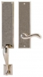 Rocky Mountain Hardware<br />G546/E460 - 3.5&quot; X 19 5/8&quot; EXTERIOR WITH 3.5&quot; X 13&quot; INTERIOR RECTANGULAR ESCUTCHEONS - FULL DUMMY
