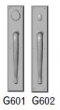 Rocky Mountain Hardware<br />G601/G602 - 3 1/2&quot; X 18&quot; RECTANGULAR ESCUTCHEONS - DOUBLE GRIP DEAD BOLT