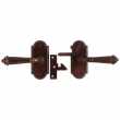 Rocky Mountain Hardware<br />GL/E701 - ROCKY MOUNTAIN ARCHED ESCUTCHEON - E701