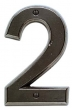 Rocky Mountain Hardware<br />RMH - ROCKY MOUNTAIN HOUSE NUMBERS - 3 7/8&quot; x 6&quot;