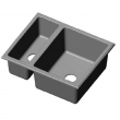 Rocky Mountain Hardware<br />SK427 - OASIS-LAGO COMBINATION SINK