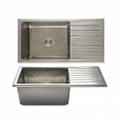 Rocky Mountain Hardware<br />SK555 - Basin Sink - Single Drainboard