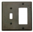 Rocky Mountain Hardware<br />SPDSP2 - ROCKY MOUNTAIN COMBINATION SWITCH AND DECORA COVER