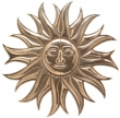 Rocky Mountain Hardware<br />SUN2636 - ROCKY MOUNTAIN SUN MEDALLION
